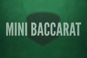 Mini baccarat